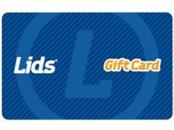 $38.00 LIDS GIFT CARD
